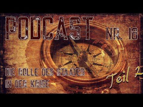 Podcast 16: Die Rolle des Staates in der Krise Teil 2