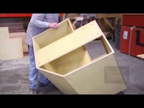 Corner Base Cabinet Assembly   Bi Fold Door | McCoyu0027s Flooring U0026 Cabinets