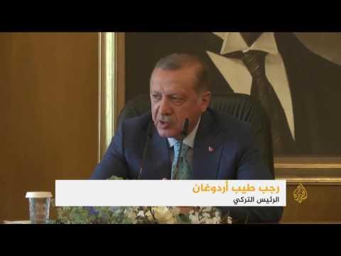 أردوغان ينتقد تعاون أميركا والأكراد في سوريا  - نشر قبل 2 ساعة