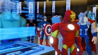 "Disney Infinity 2.0: The Avengers Playset ""Iron Man"" - Ep 1"