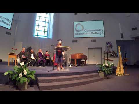 Danella Durango Perez Valedictory Address - 2018 Community Christian College