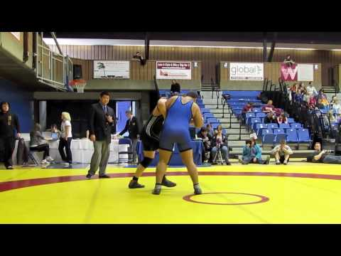 CIS Championships 2012: 130 kg Jacob Phillips vs. Greg Rossy
