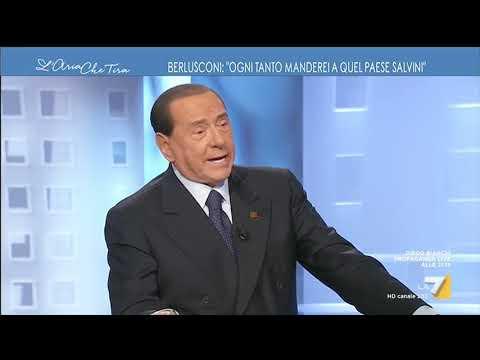 Silvio Berlusconi: 'Ogni tanto manderei a quel paese Salvini