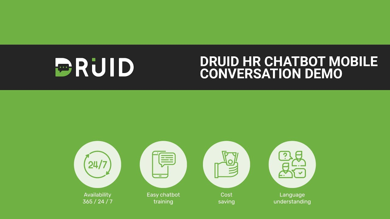 Druid Chatbots  Deploy easily through our AI powered no-code platform