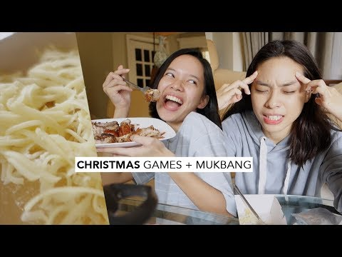 I AM THE CHRISTMAS QUEEN! Christmas Games + Song Guessing + Mukbang