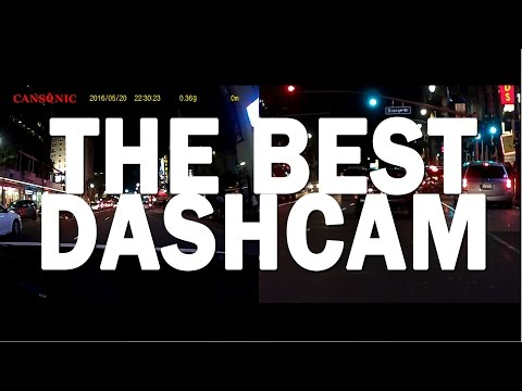Cansonic UltraDuo Z1   Testing Footage - The Best Dashcam