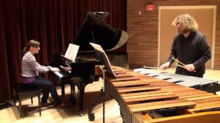 Clocks in Motion - Percussion Duo Mvmt. 3 - Thomas Lang