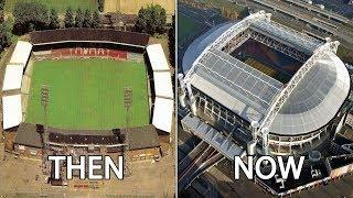 Eredivisie Stadiums Then & Now