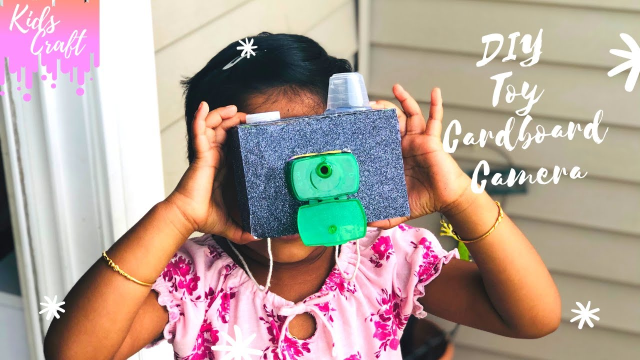 DIY Toy Camera | Cardboard | Kids Craft | Up-cycled craft| Creative Ideas | Easy Peasy Idea