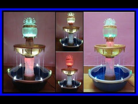 Make Non Stop Heron S Fountain With Plastic Bottle Doovi