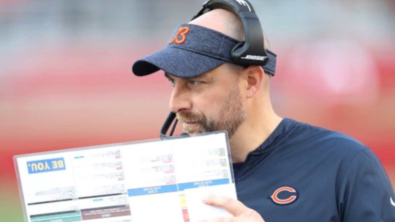 Matt Nagy urges Chicago Bears to 'wake up,' have some personal ...