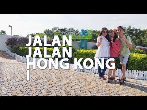 JALAN-JALAN DI HONG KONG 1 | CATHAY PACIFIC NGONG PING 360 | KURVLOG