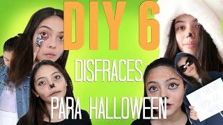 DIY 6 DISFRACES FACILES PARA HALLOWEEN // Majo y Ana