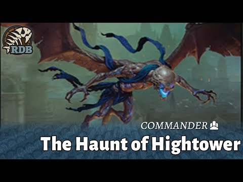 The Haunt of Hightower Commander Deck,  Ravnica Allegiance Buy a Box Promo!