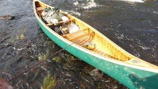 Marshall Lake Canoe Trip, 10 days solo, northern Ontario