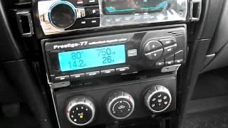 Авто магнитола JSD 520 Установка, тест на Nissan.