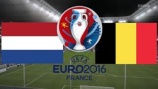NIEDERLANDE gegen BELGIEN - EM 2016 FRANKREICH (Gruppenphase 1.Spieltag) ◄NED #06►
