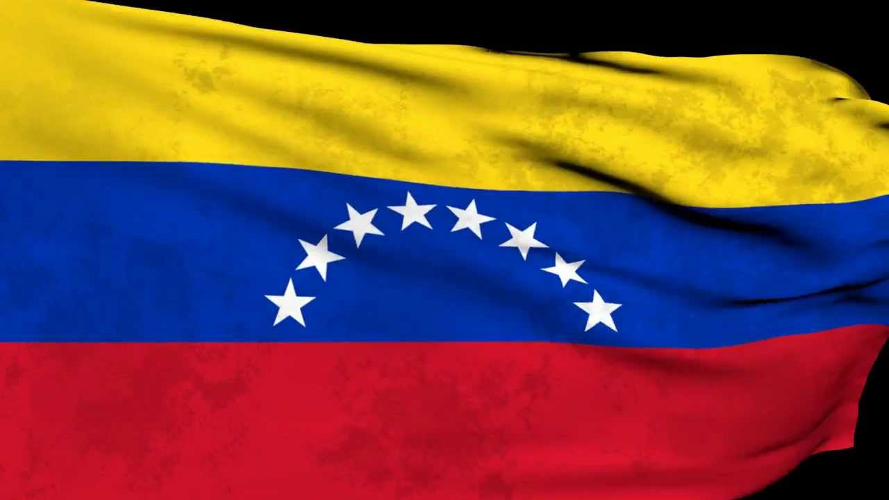 Bandera Y Escudo De Venezuela