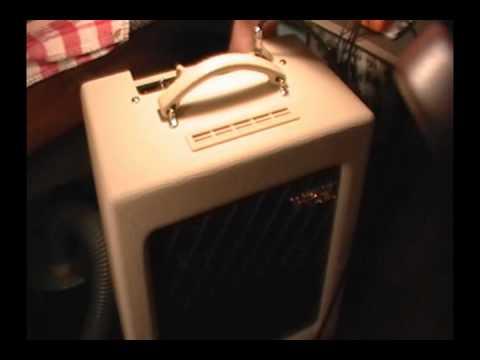 VOX AC4TV Tube Amp mods by JC Maillet