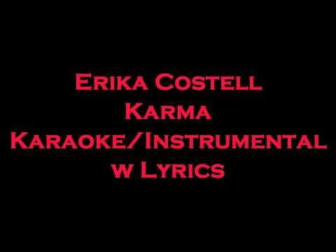 Erika Costell - Karma KaraokeInstrumental w