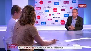 """FO : """"Colère"""" des militants à l'encontre de Mailly, selon Pavageau"""