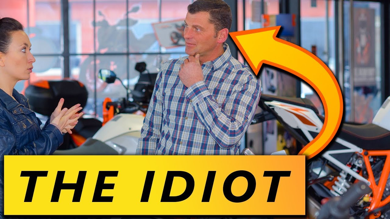 7 Guys You Meet at a Motorcycle Dealership - YouTube