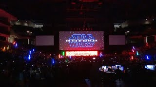Star Wars: The Rise of Skywalker trailer crowd reaction at Star Wars Celebration Chicago