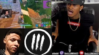 Gambar cover SoLLUMINATI Reaction to The 2nd Best Fortnite Player (Myth) Best Plays