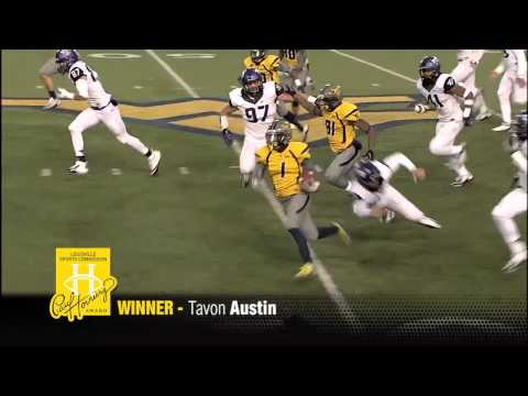 2012 Paul Hornung winner Tavon Austin