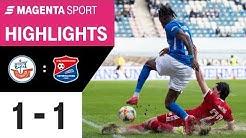 Hansa Rostock - SpVgg Unterhaching | Spieltag 23, 19/20 | MAGENTA SPORT