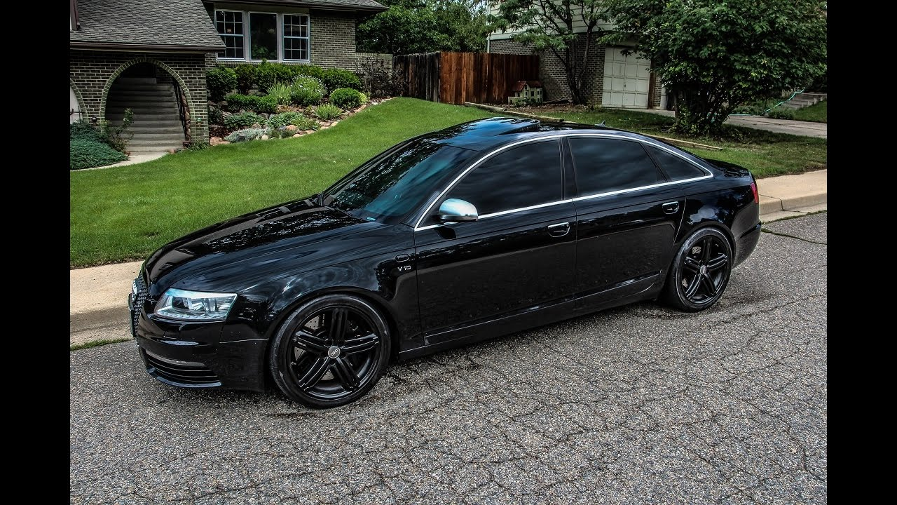audi s6 c6 v10 by milltek ride youtube. Black Bedroom Furniture Sets. Home Design Ideas
