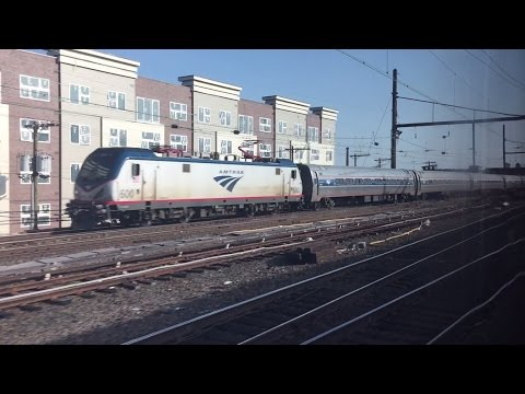NJ Transit HD 60fps: Riding Train 3867; New York Penn Station - Trenton (12 Car Arrow III EMU)