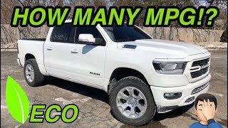 2019 RAM 1500 FUEL ECONOMY REVIEW! *PULSAR UPDATE*