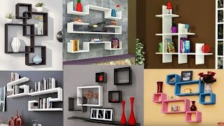 100 Modern corner wall shelves design   Home wall decoration ideas 2019
