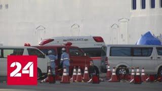 У россиян на борту круизного лайнера в порту Японии коронавирус не обнаружен - Россия 24