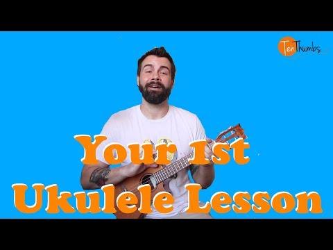 Your Very First Ukulele Lesson! - True Beginner Ukulele Tutorial