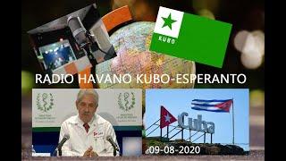 RADIO HABANA CUBA EN ESPERANTO 09-AGOSTO-2020 / RADIO HAVANO KUBO-ESPERANTO 09-08-2020