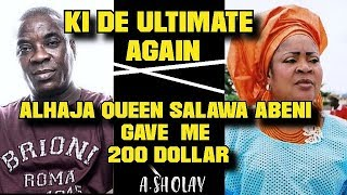 k1 de ultimate  CHANGINGAlhaja Queen SAbeni Gave me 200-ASHOLAY