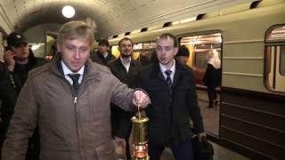 Перевозка Благодатного огня в московском метро