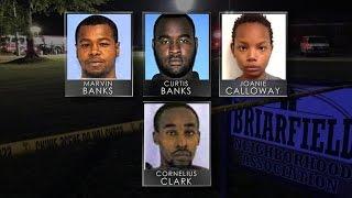 Four arrested after two cops shot dead in Mississippi