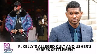 R. Kelly, Kevin Hart And Usher: Celebrity Black Men Week Of Struggle | Did Y