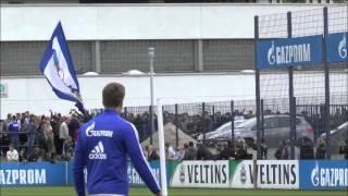 FC Schalke 04 Abschlusstraining vor dem Spiel gegen BVB