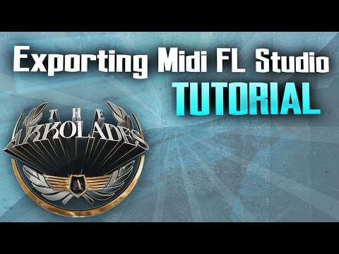 How To Export Midi in FL Studio