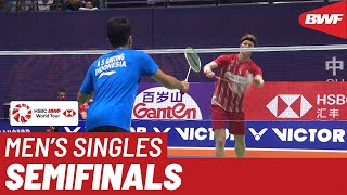 SF | MS | Anthony Sinisuka GINTING (INA) [7] vs. Anders ANTONSEN (DEN) [8] | BWF 2019