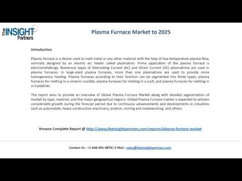 Plasma Furnace Market Trends |The Insight Partners