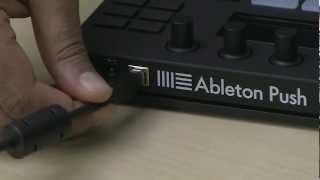 Ableton Push 1 Tutorial Part 1 Getting Started