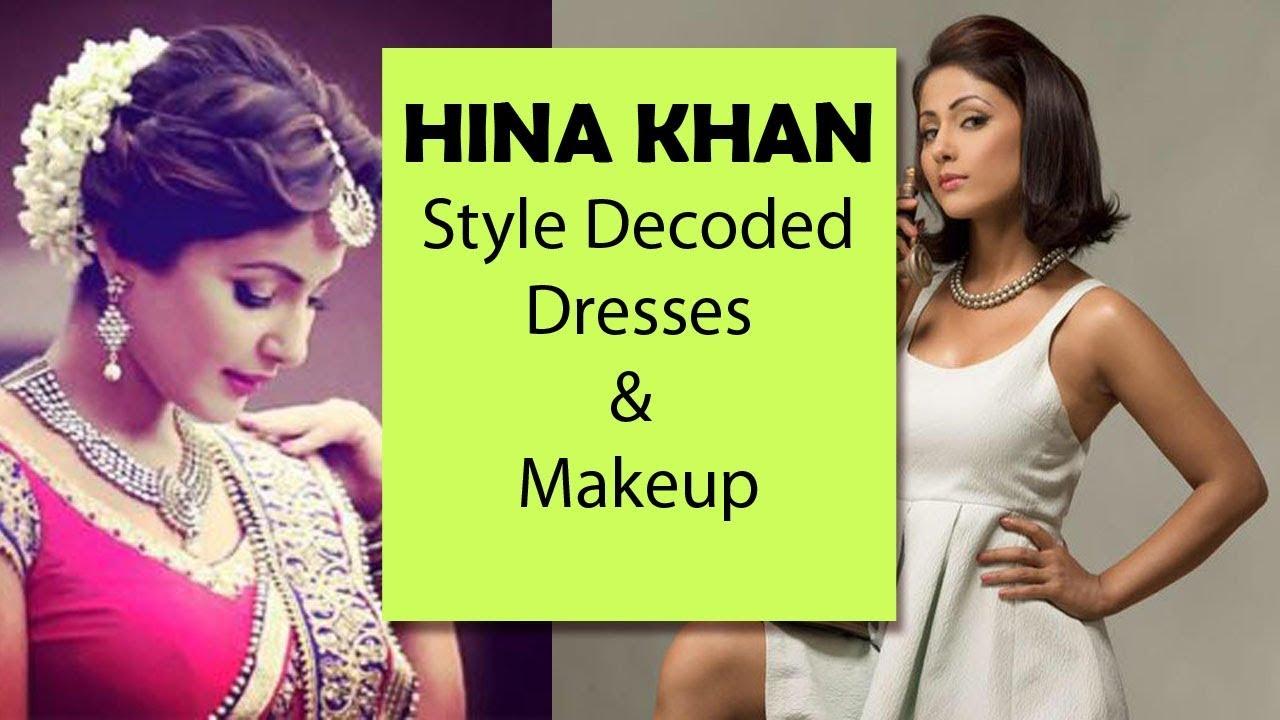 HINA KHAN Aka Akshara's Dresses And Makeup