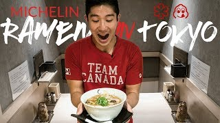 Gambar cover MICHELIN Ramen Tour in Tokyo Japan - You gotta go to these on your next trip!