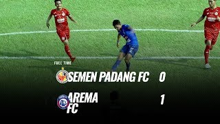 Download Video [Pekan 8] Cuplikan Pertandingan Semen Padang FC vs Arema FC, 12 Juli 2019 MP3 3GP MP4
