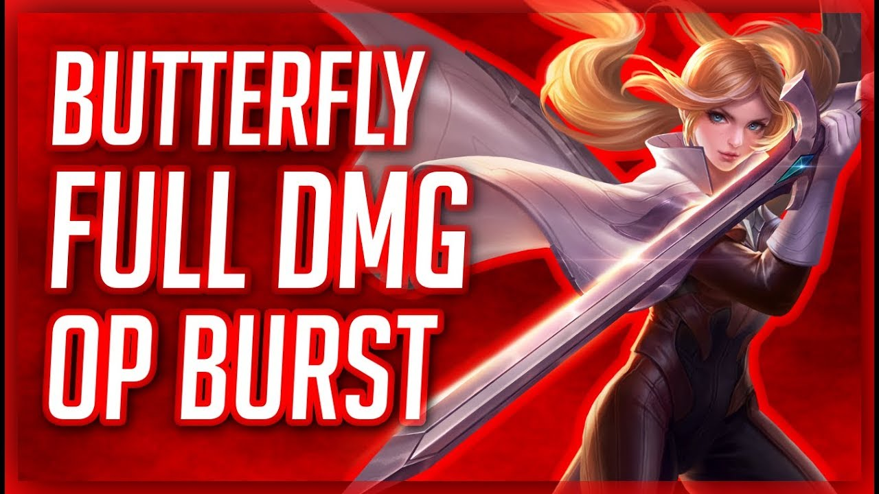 Butterfly Full Damage Build Op Burst Commentary Guide Aov  Ed E C Ed   Ec A A Ed  B Rov Lien Quan Mobile